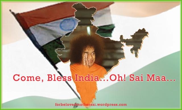 ComeAndBlessIndia_OhSaiMaa